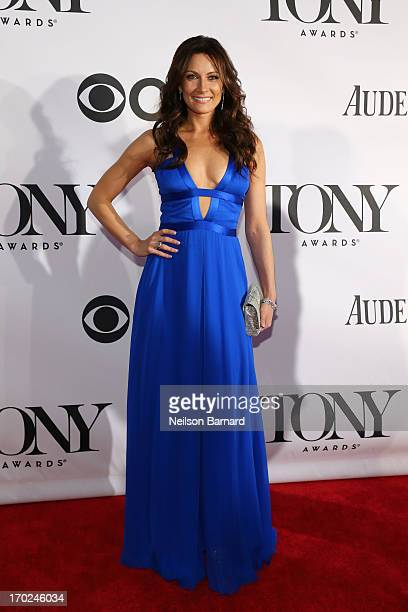 Actress Laura Benanti attends The 67th Annual Tony Awards at Radio City Music Hall on June 9 2013 in New York City