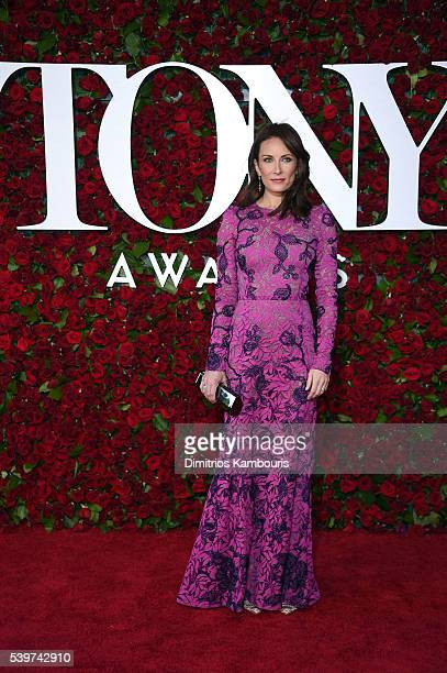 Actress Laura Benanti attends the 70th Annual Tony Awards at The Beacon Theatre on June 12 2016 in New York City