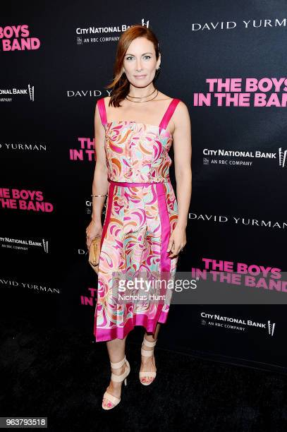 Actress Laura Benanti attends the Boys In The Band 50th Anniversary Celebration at Booth Theatre on May 30 2018 in New York City