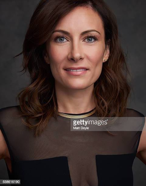 Actress Laura Benanti is photographed for SAG Foundation on April 28 2016 in New York City