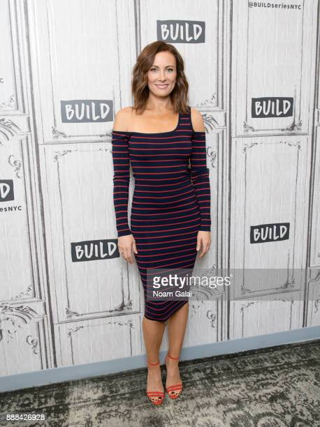 Actress Laura Benanti visits Build Series to discuss Meteor Shower and The Detour at Build Studio on December 8 2017 in New York City