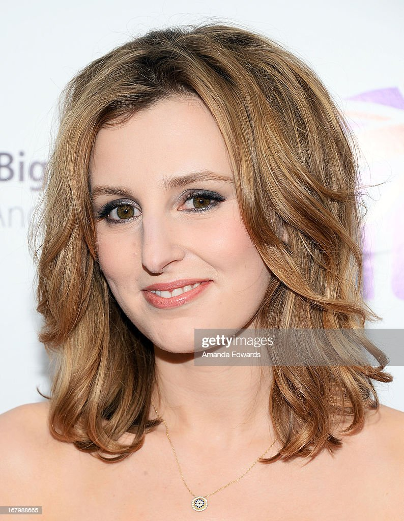 Actress Laura Carmichael arrives at the 'Downton Abbey' Britweek celebration at the Fairmont Miramar Hotel on May 3, 2013 in Santa Monica, California.