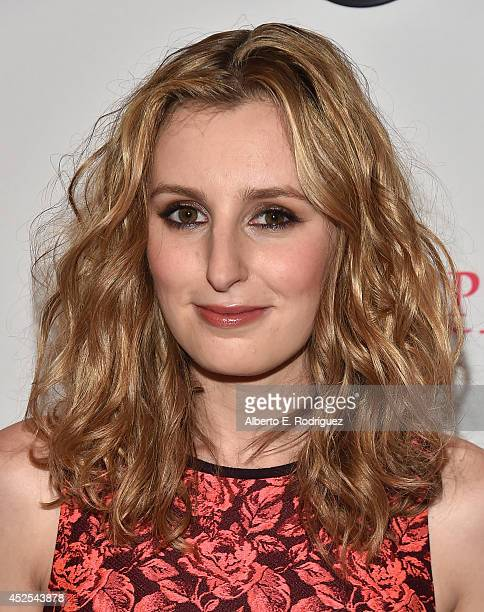 """Actress Laura Carmichael attends the 2014 Summer TCA Tour """"Downton Abbey"""" Season 5 photocall at The Beverly Hilton Hotel on July 22, 2014 in Beverly..."""