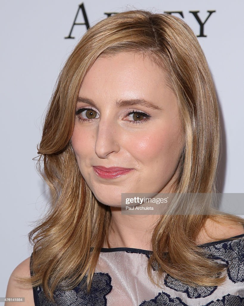 Actress Laura Carmichael attends the 'Downton Abbey' panel Q&A at The Writers Guild Theater on June 6, 2015 in Beverly Hills, California.