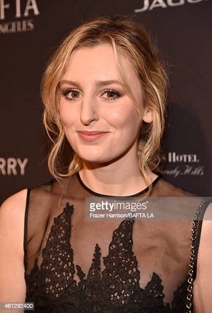 Actress Laura Carmichael in Mulberry attends the BAFTA Los Angeles Tea Party at The Four Seasons Hotel Los Angeles At Beverly Hills on January 10,...