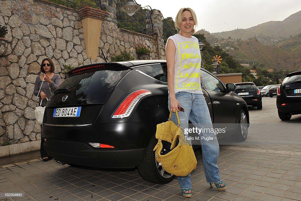 Celebrities Arrive At The Taormina Film Fest 2010