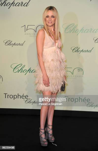 Actress Laura Chiatti attends the Chopard Trophy at the Hotel Martinez during the 63rd Annual Cannes Film Festival on May 13 2010 in Cannes France