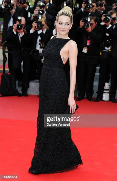 Actress Laura Chiatti attends the Opening Night Premiere of 'Robin Hood' at the Palais des Festivals during the 63rd Annual International Cannes Film...