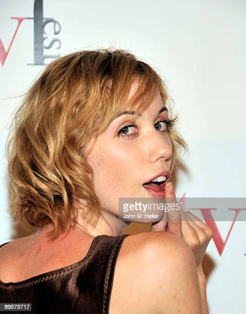 Actress Laura Clery attends the premiere of Sex Ed The Series at the Independent Television Festival at the Laemmle Sunset 5 Theaters on August 2...
