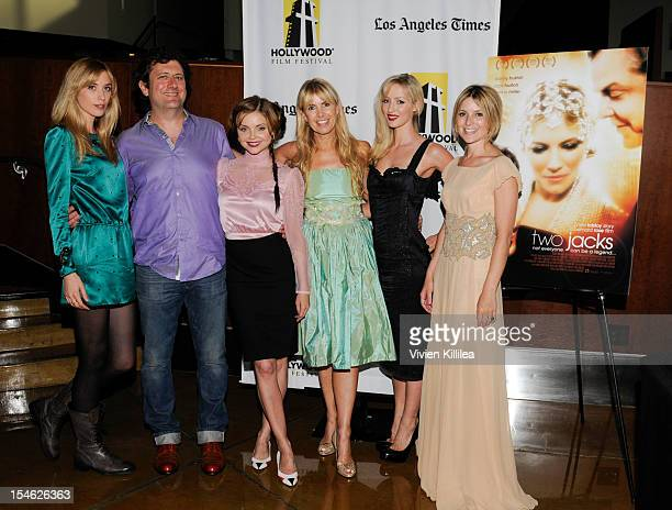Actress Laura Clery director Bernard Rose actress Izabella Miko actress and producer Julia Verdin actress Hannah Cowley and actress Rosie Fellner...