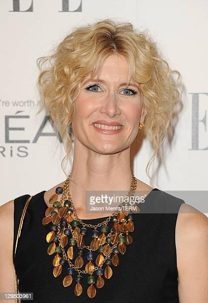 Actress Laura Dern arrives at ELLE's 18th Annual Women in Hollywood Tribute held at the Four Seasons Hotel on October 17, 2011 in Los Angeles,...