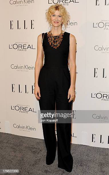 Actress Laura Dern arrives at the 18th Annual ELLE Women In Hollywood Tribute at The Four Seasons Hotel on October 17, 2011 in Beverly Hills,...