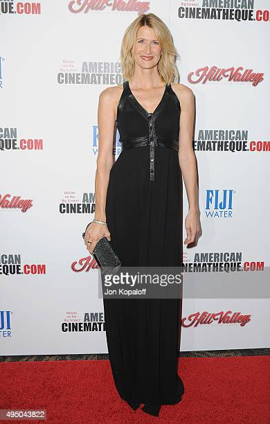 Actress Laura Dern arrives at the 29th American Cinematheque Award Honoring Reese Witherspoon at the Hyatt Regency Century Plaza on October 30, 2015...