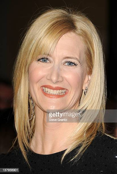 Actress Laura Dern arrives at the 64th Annual Directors Guild Of America Awards at the Grand Ballroom at Hollywood Highland Center on January 28 2012...