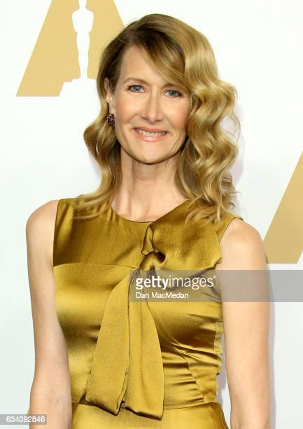 Actress Laura Dern arrives at the 89th Annual Academy Awards Nominee Luncheon at The Beverly Hilton Hotel on February 6 2017 in Beverly Hills...