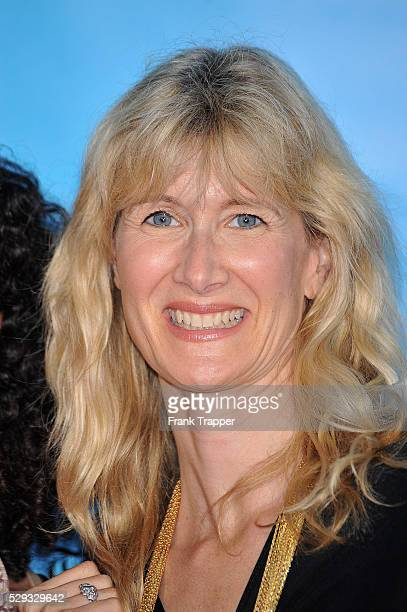 Actress Laura Dern arrives at the Los Angeles Film Festival's opening night gala premiere of 'Paper Man' at Mann Village Theatre