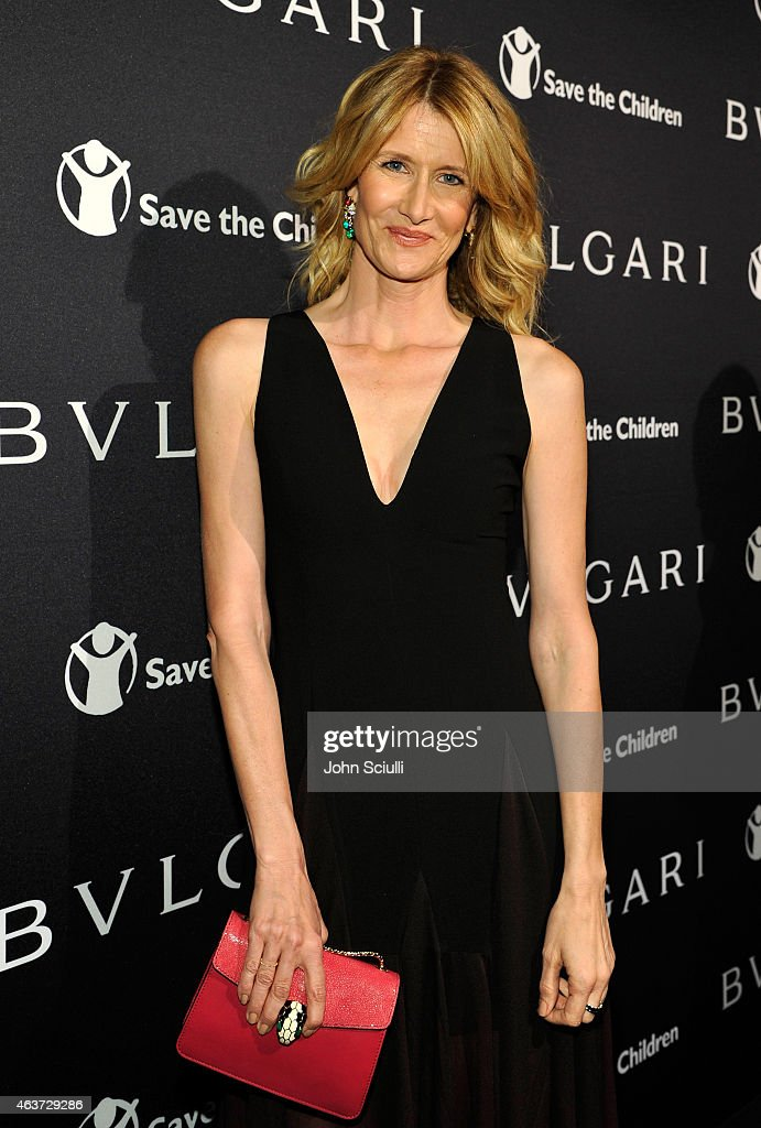 Actress Laura Dern attends BVLGARI and Save The Children STOP. THINK. GIVE. Pre-Oscar Event at Spago on February 17, 2015 in Beverly Hills, California.
