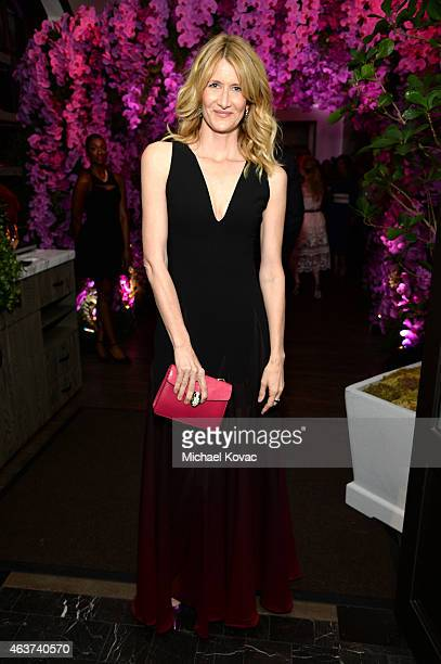 Actress Laura Dern attends BVLGARI and Save The Children STOP THINK GIVE PreOscar Event at Spago on February 17 2015 in Beverly Hills California