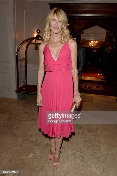 Actress Laura Dern attends HFPA InStyle's 2014 TIFF Celebration at the Windsor Arms Hotel on September 5 2014 in Toronto Canada