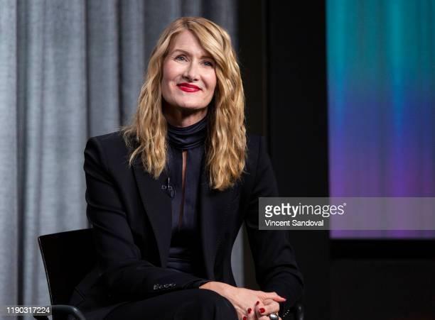 Actress Laura Dern attends SAG-AFTRA Foundation Presents Career Conversation with Laura Dern at SAG-AFTRA Foundation Screening Room on November 26,...
