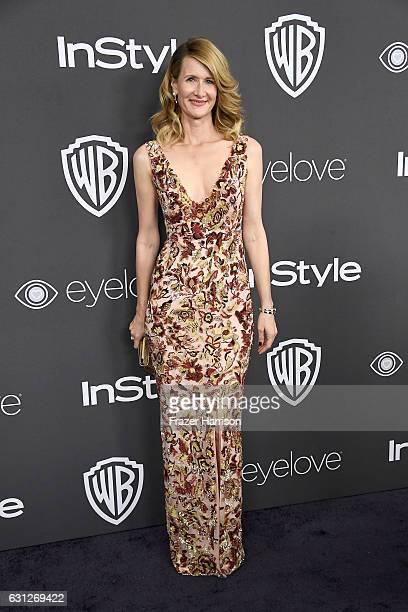Actress Laura Dern attends the 18th Annual PostGolden Globes Party hosted by Warner Bros Pictures and InStyle at The Beverly Hilton Hotel on January...