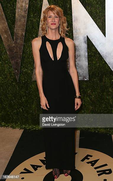 Actress Laura Dern attends the 2013 Vanity Fair Oscar Party at the Sunset Tower Hotel on February 24 2013 in West Hollywood California