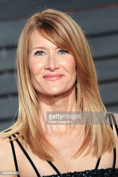 Actress Laura Dern attends the 2017 Vanity Fair Oscar Party hosted by Graydon Carter at the Wallis Annenberg Center for the Performing Arts on...