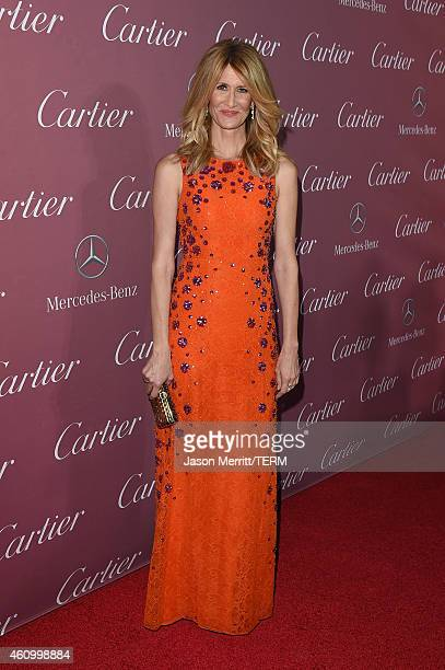 Actress Laura Dern attends the 26th Annual Palm Springs International Film Festival Awards Gala at Parker Palm Springs on January 3 2015 in Palm...