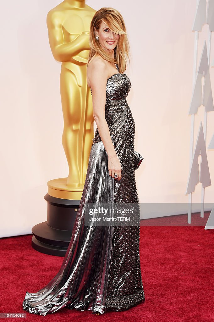 Actress Laura Dern attends the 87th Annual Academy Awards at Hollywood & Highland Center on February 22, 2015 in Hollywood, California.