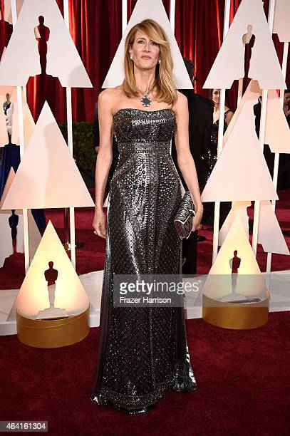Actress Laura Dern attends the 87th Annual Academy Awards at Hollywood Highland Center on February 22 2015 in Hollywood California