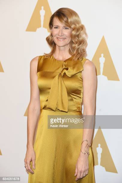 Actress Laura Dern attends the 89th Annual Academy Awards Nominee Luncheon at The Beverly Hilton Hotel on February 6 2017 in Beverly Hills California