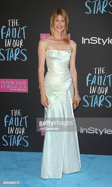 Actress Laura Dern attends 'The Fault In Our Stars' premiere at Ziegfeld Theater on June 2 2014 in New York City
