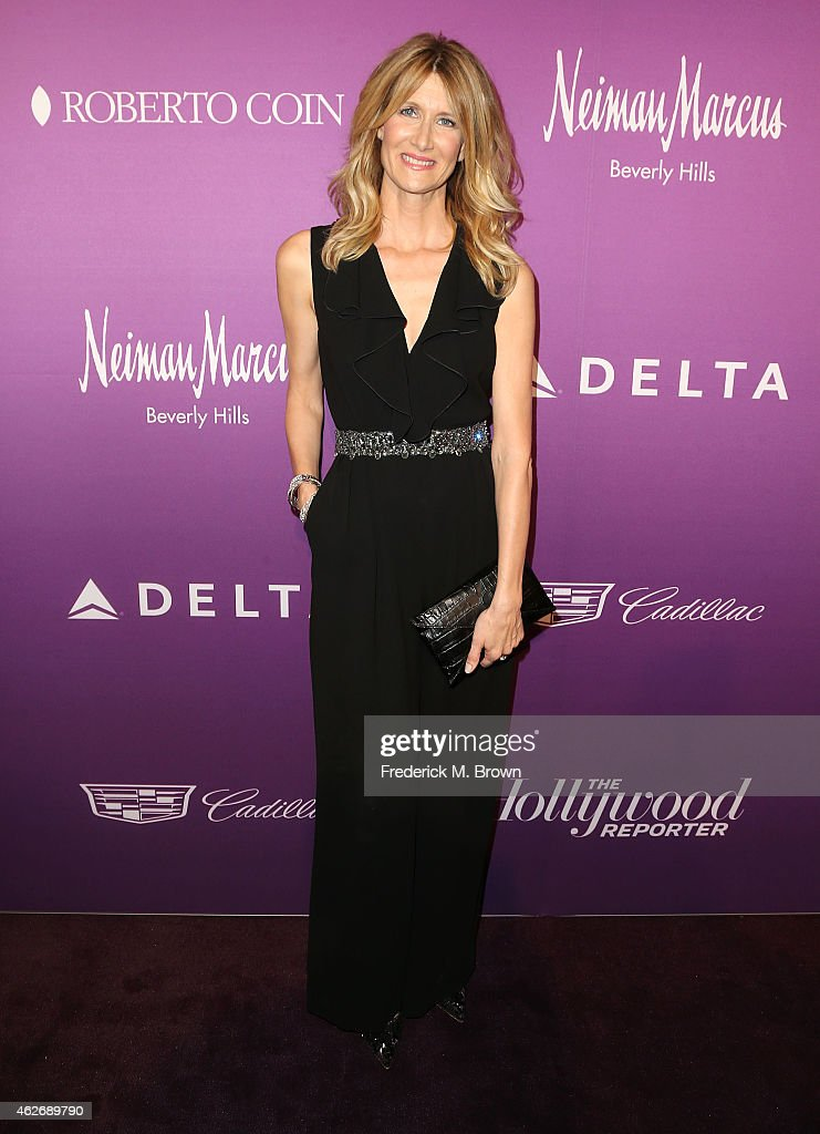 Actress Laura Dern attends The Hollywood Reporter's Annual Oscar Nominees Night Party at Spago on February 2, 2015 in Beverly Hills, California.
