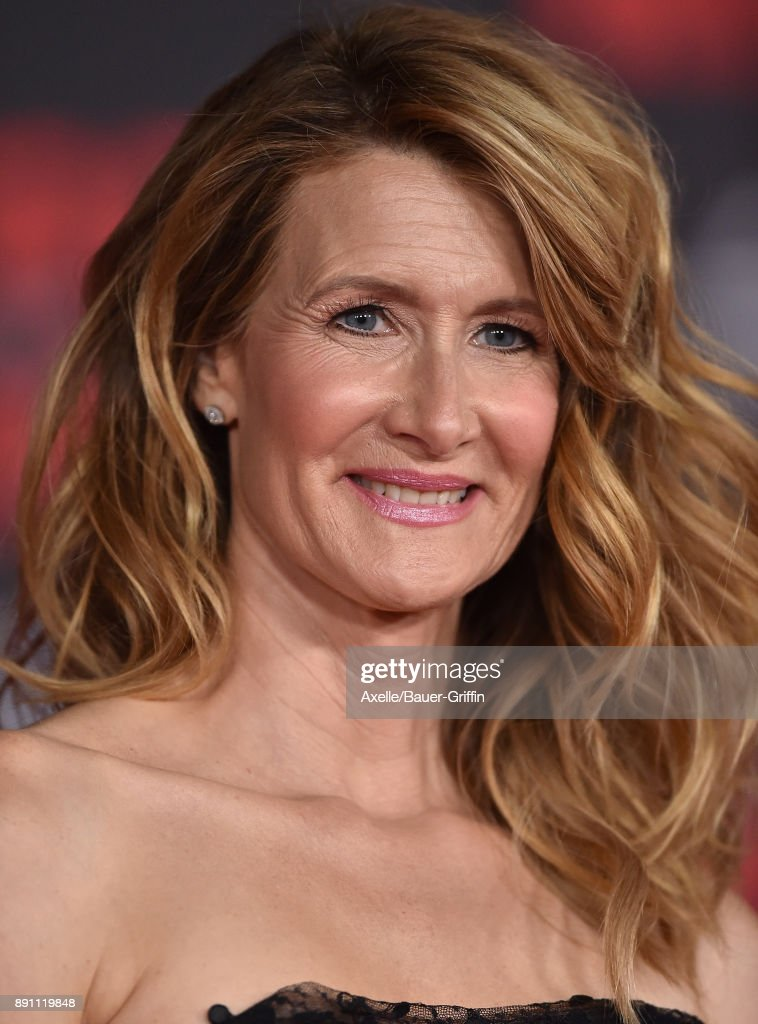 Actress Laura Dern attends the Los Angeles premiere of 'Star Wars: The Last Jedi' at The Shrine Auditorium on December 9, 2017 in Los Angeles, California.