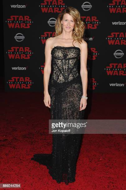 Actress Laura Dern attends the Los Angeles Premiere 'Star Wars The Last Jedi' at The Shrine Auditorium on December 9 2017 in Los Angeles California