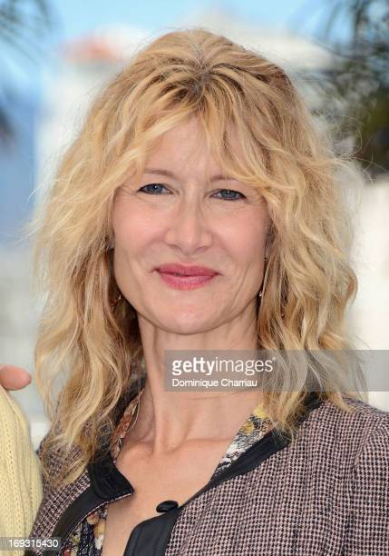 Actress Laura Dern attends the photocall for 'Nebraska' during the 66th Annual Cannes Film Festival at Palais des Festivals on May 23 2013 in Cannes...
