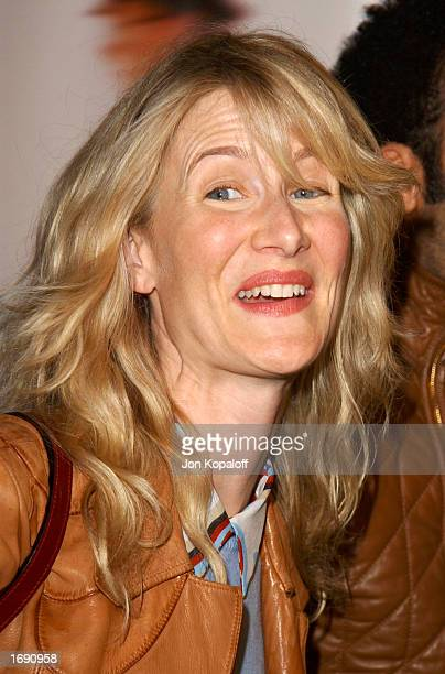 Actress Laura Dern attends the premiere of Catch Me If You Can at the Mann Village Theatre on December 16 2002 in Westwood California
