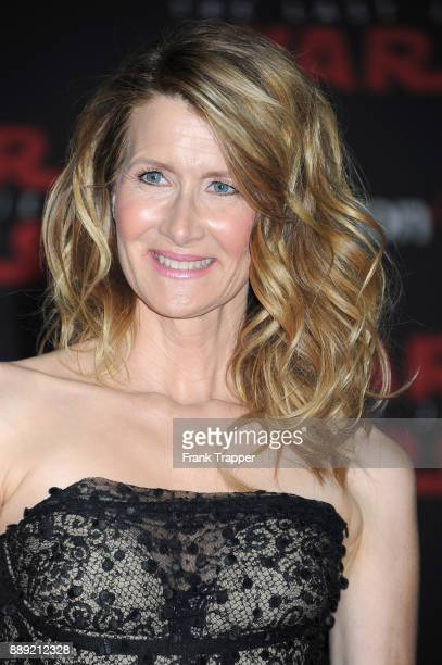 Actress Laura Dern attends the premiere of Disney Pictures and Lucasfilm's 'Star Wars The Last Jedi' held at The Shrine Auditorium on December 9 2017...