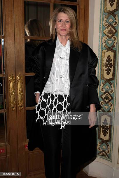 Actress Laura Dern attends the Raf Simons Menswear Fall/Winter 20192020 show as part of Paris Fashion Week on January 16 2019 in Paris France