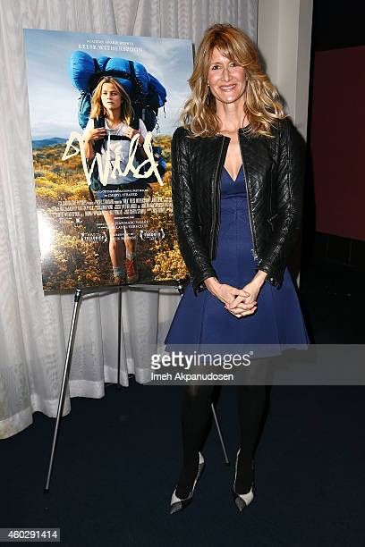 Actress Laura Dern attends the screening of 'Wild' during the 2014 Variety Screening Series at ArcLight Hollywood on December 10 2014 in Hollywood...