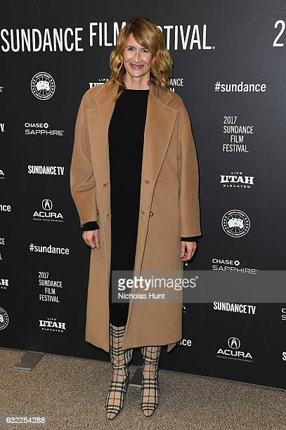 Actress Laura Dern attends the The Discovery premiere during day 2 of the 2017 Sundance Film Festival at Eccles Center Theatre on January 20 2017 in...