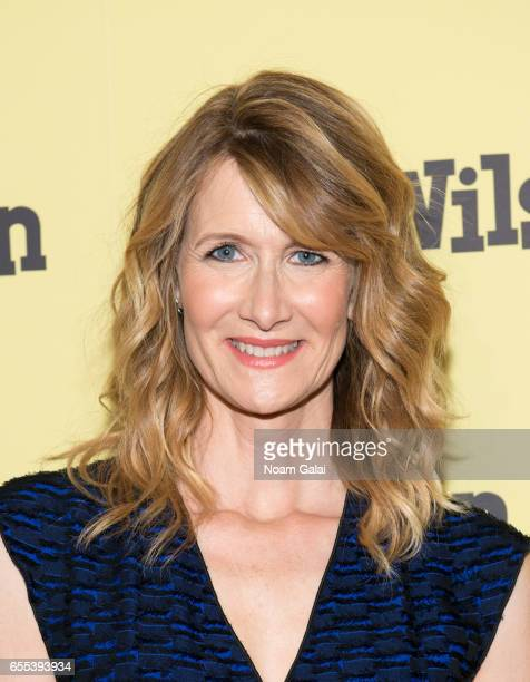 Actress Laura Dern attends the 'Wilson' New York screening at the Whitby Hotel on March 19 2017 in New York City
