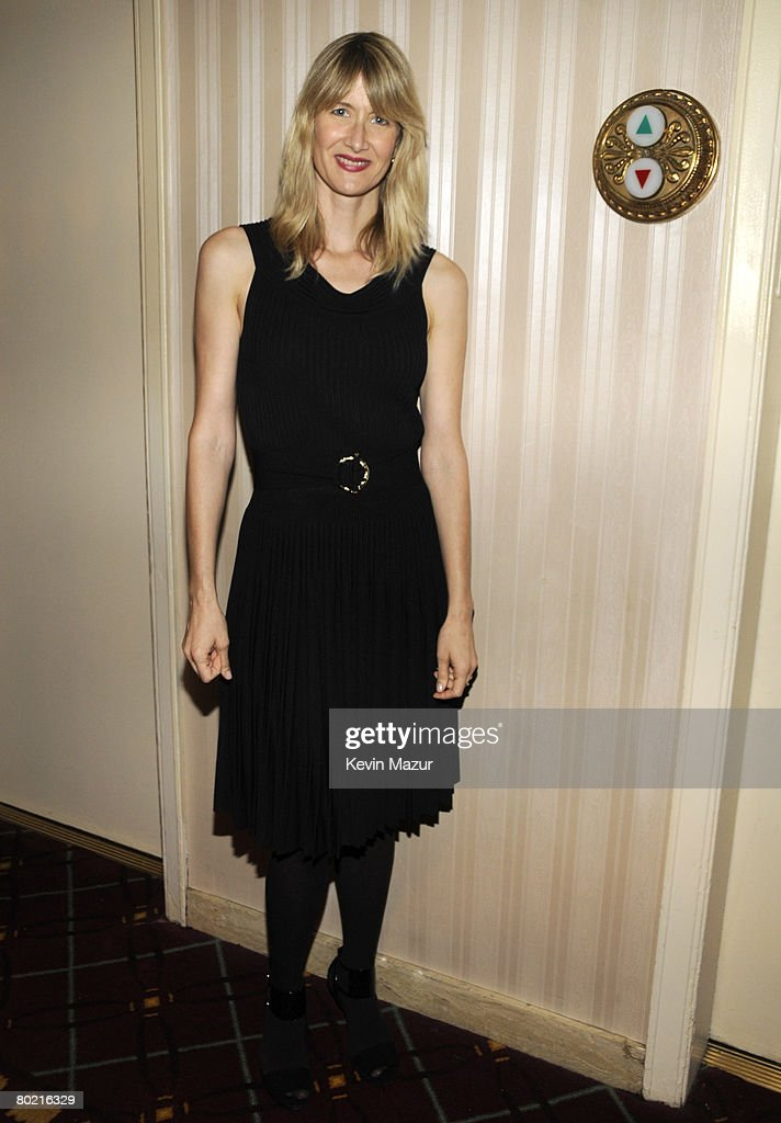 Actress Laura Dern backstage at the 23rd Annual Rock and Roll Hall of Fame Induction Ceremony at the Waldorf Astoria on March 10, 2008 in New York City. *EXCLUSIVE*