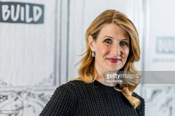 Actress Laura Dern discusses 'Wilson' with the Build Seris at Build Studio on March 21 2017 in New York City laura Dern