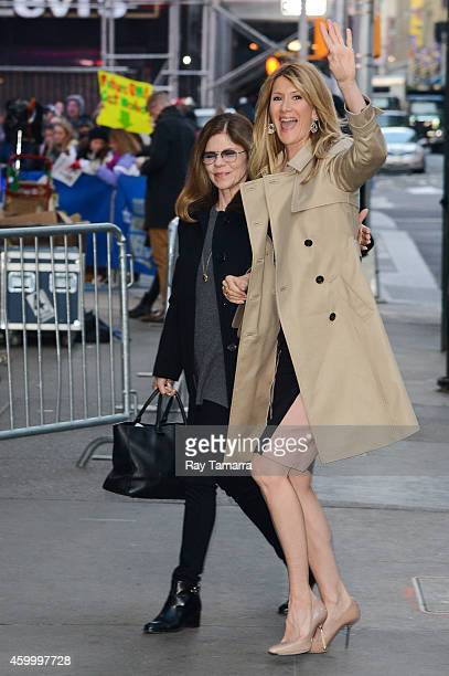 Actress Laura Dern enters the 'Good Morning America' taping at the ABC Times Square Studios on December 5 2014 in New York City