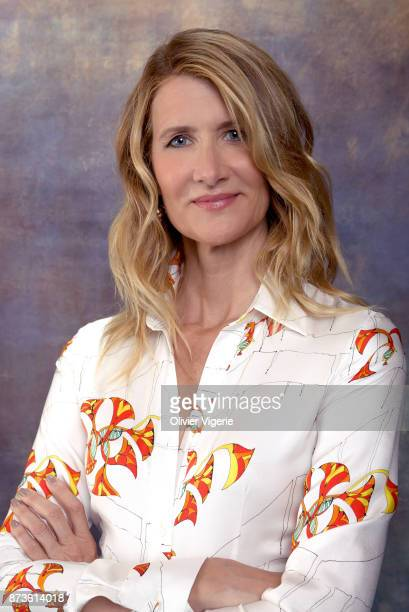 Actress Laura Dern is photographed on September 2 2017 in Deauville France