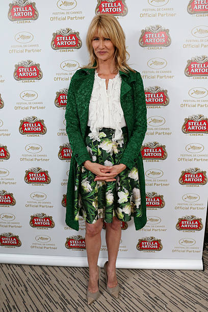 FRA: Laura Dern Visits The Stella Artois Suite - The 66th Annual Cannes Film Festival