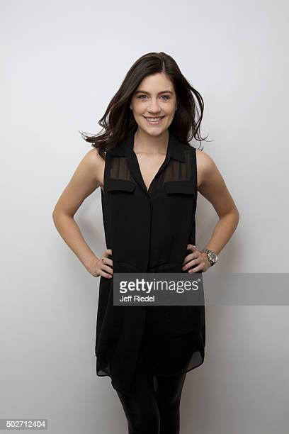 Actress Laura Dreyfuss is photographed for TV Guide Magazine on January 17 2015 in Pasadena California