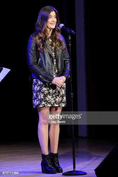 Actress Laura Dreyfuss performs onstage during Glamour Celebrates 2017 Women Of The Year Live Summit at Brooklyn Museum on November 13 2017 in New...