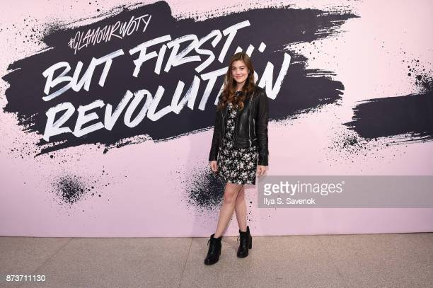 Actress Laura Dreyfuss poses during Glamour Celebrates 2017 Women Of The Year Live Summit at Brooklyn Museum on November 13 2017 in New York City